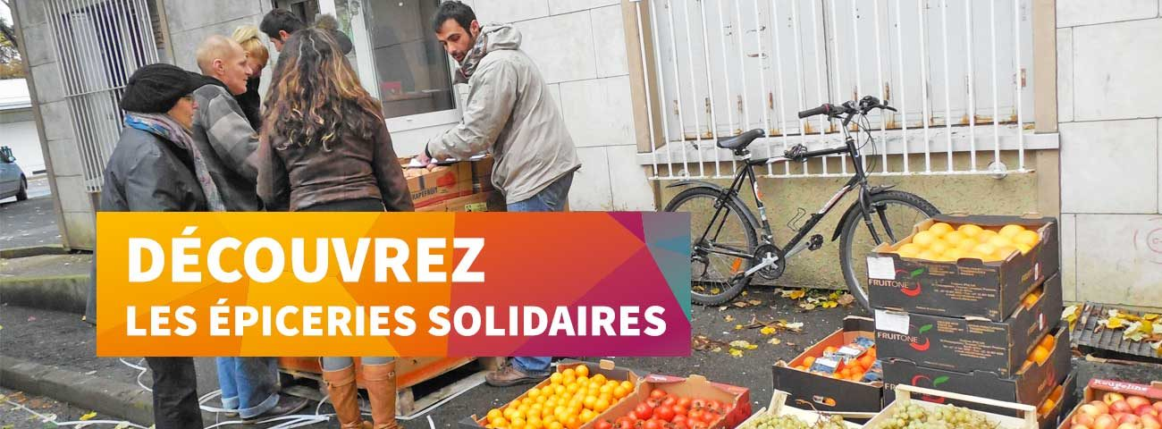 épiceries solidaires