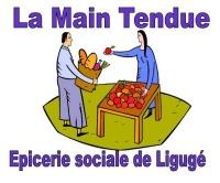logo de la main tendue, épicerie solidaire
