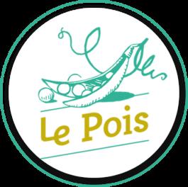 logo de la monnaie locale de Poitiers, le pois