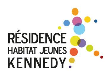 logo résidence habitat jeunes kennedy