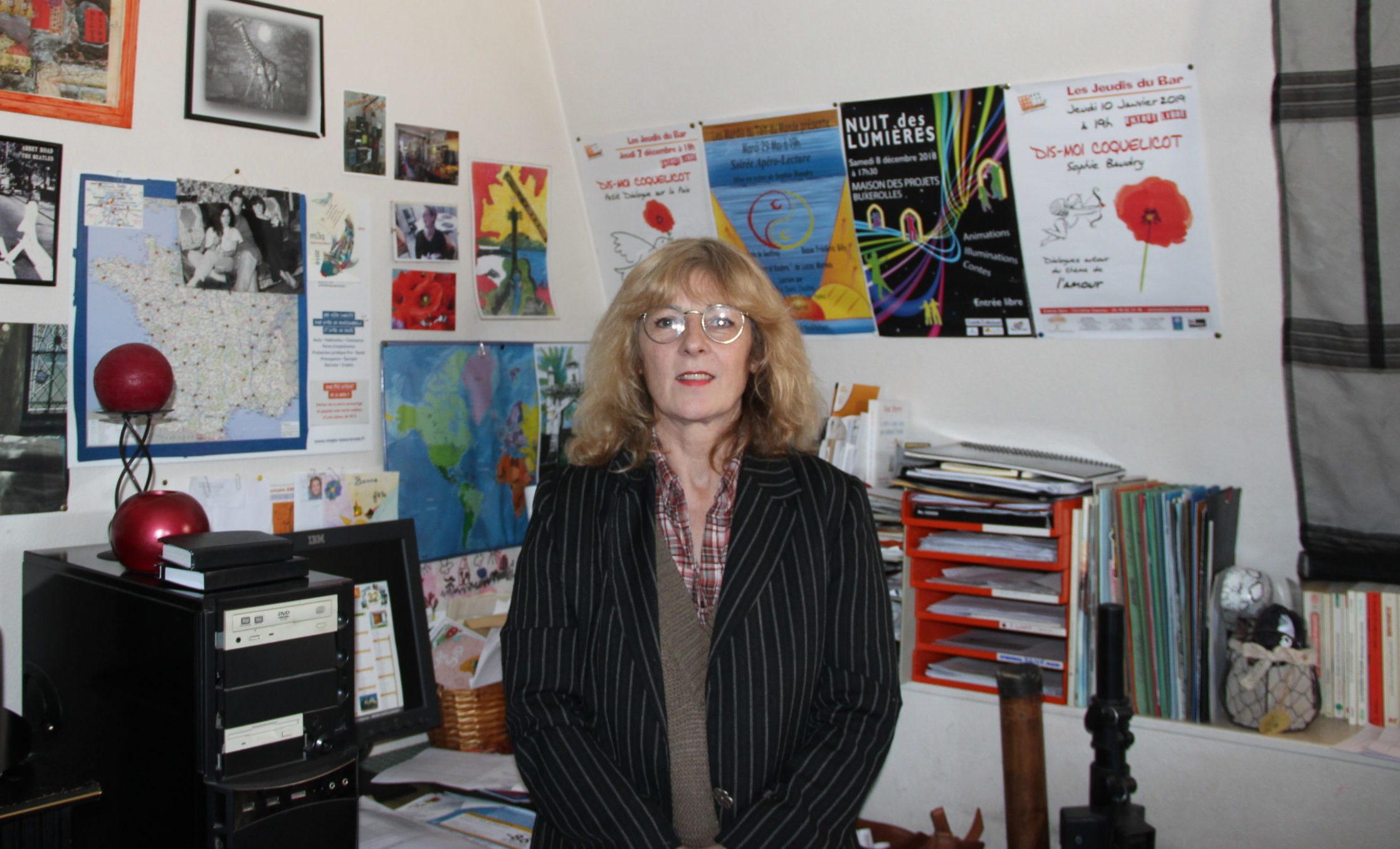 Sophie Baudry : une lectrice publique